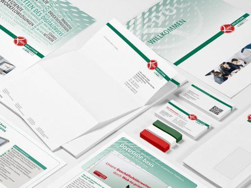 Geschäftsausstattung x-doc-solution GmbH