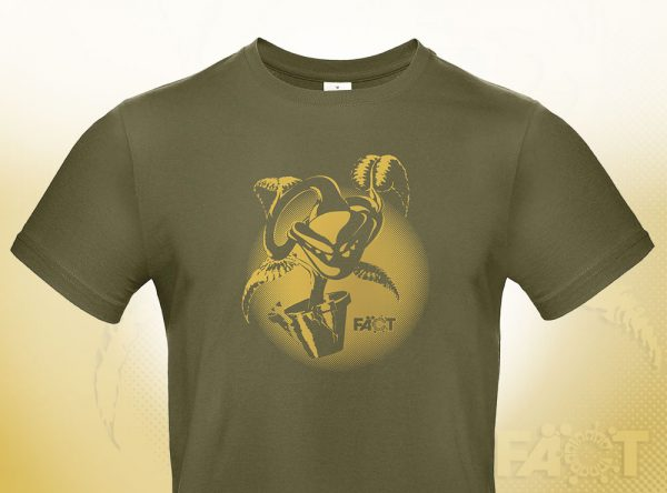 T-Shirt_Khaki_Pflanze